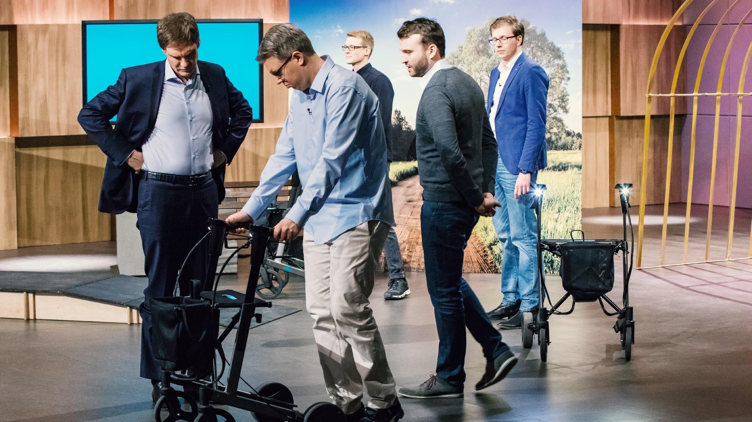 Die Hohle Der Lowen 2018 Drei Lowen Kampfen Um Den E Rollator Ello