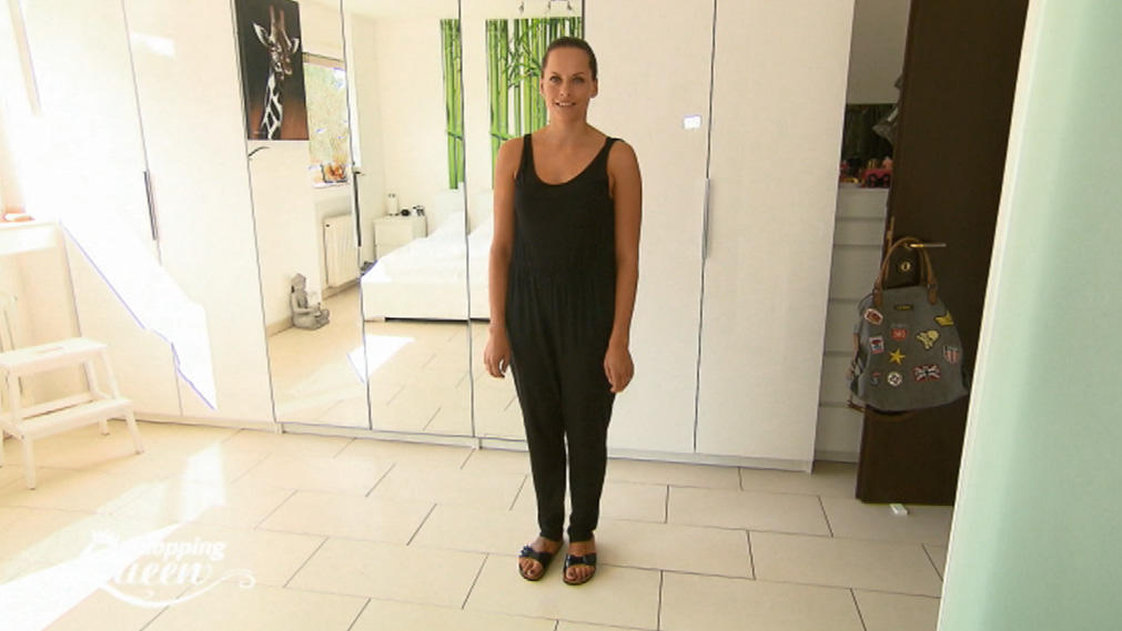 shopping queen anja aus d sseldorf im style check. Black Bedroom Furniture Sets. Home Design Ideas