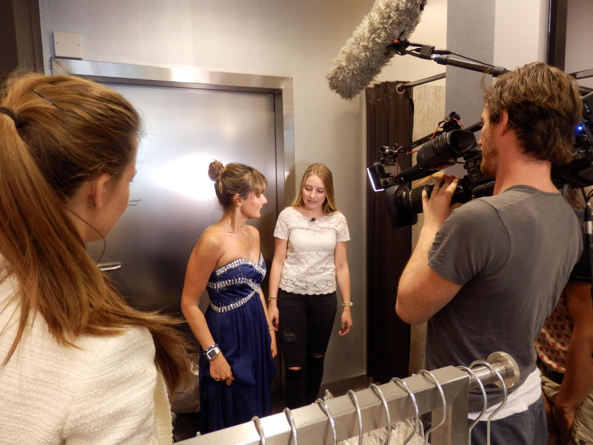 Shopping Queen KW 35 Hamburg Backstage