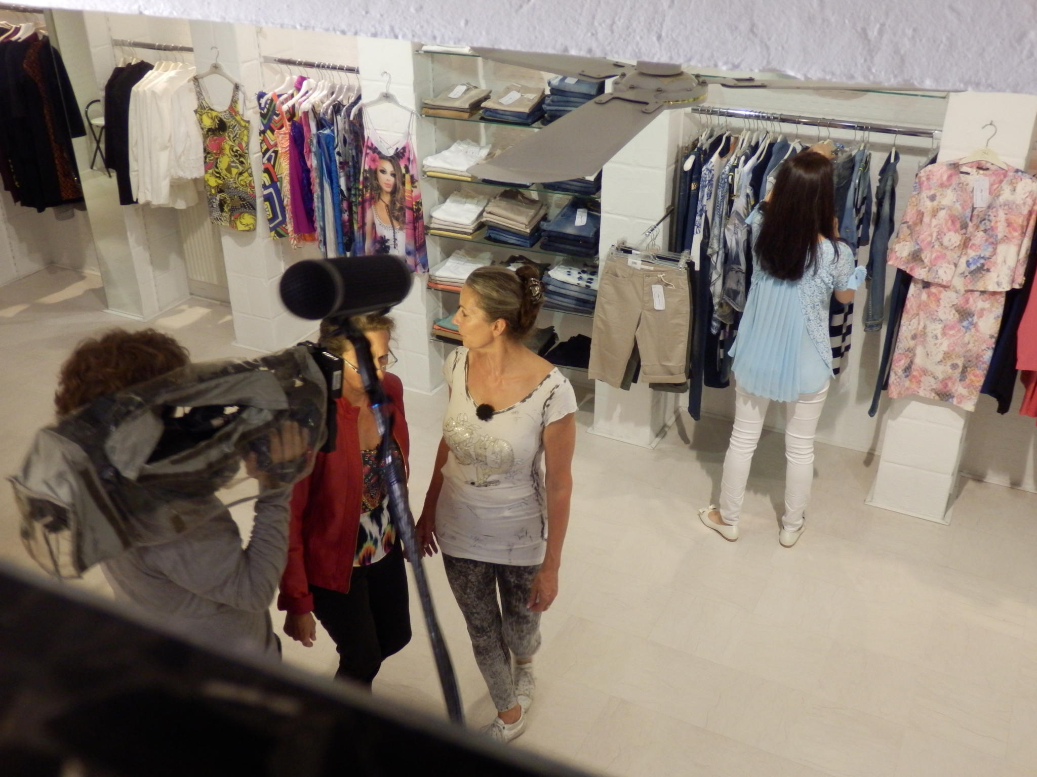Shopping Queen KW 44 Auf der Hut Hamburg Backstage