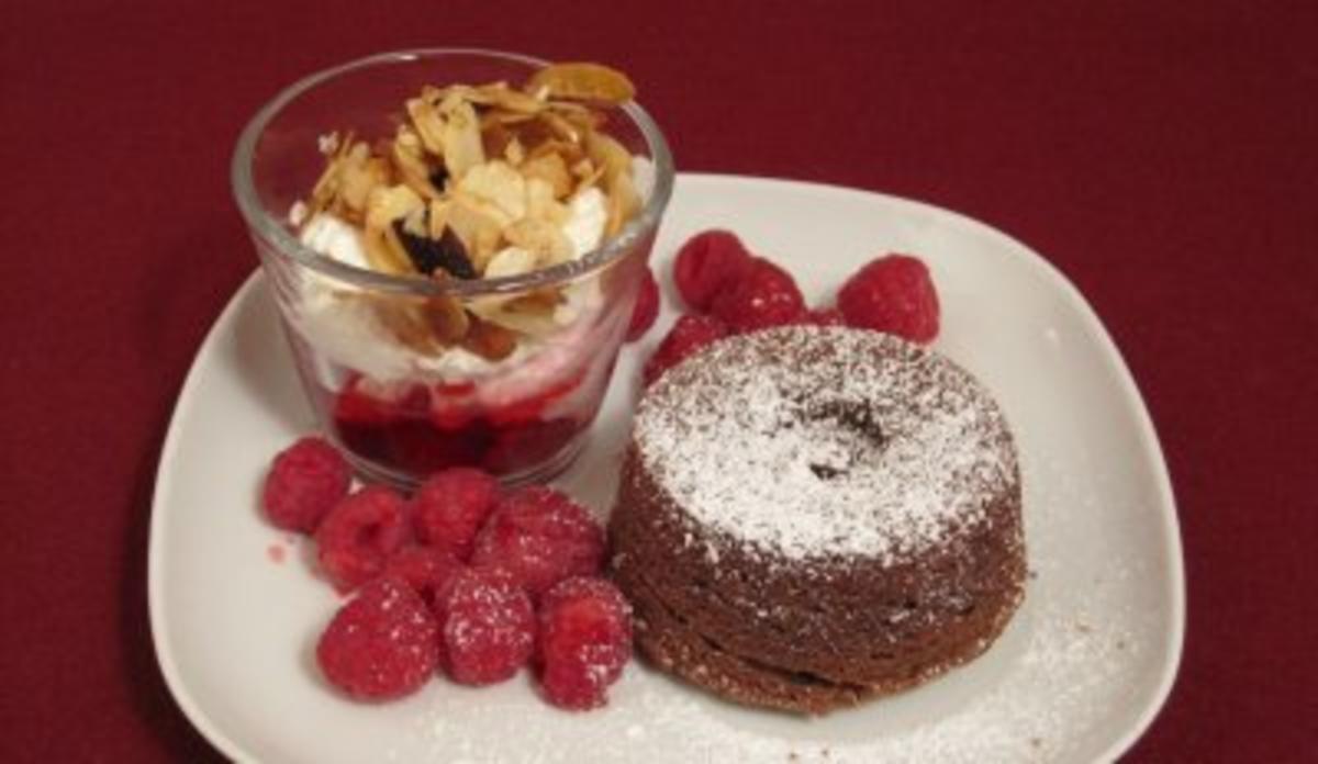 Schokokuchen Mit Früchten : das perfekte dinner rezepte warmer schokoladenkuchen ~ Watch28wear.com Haus und Dekorationen