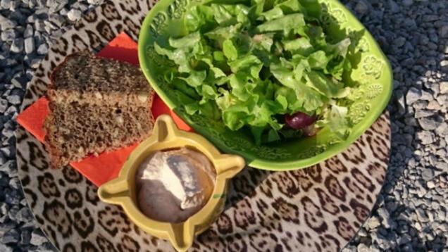Das Perfekte Dinner Rezepte Blattsalat Mit Früchten Und Thunfischcreme