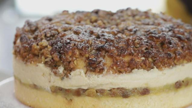 Rezepte Bratapfel Rosinen Zimt Torte Mit Walnusskruste