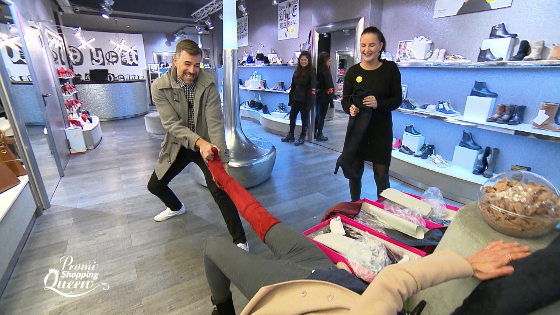 Promi Shopping Queen Die Promis Nehmen Das Crazy Motto