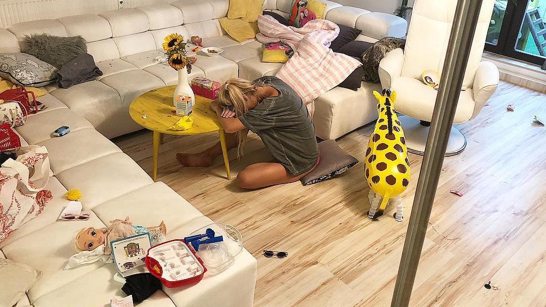 Chaos Im Hause Kulka Wenn Sarah Kulka Krank Ist Muss Der