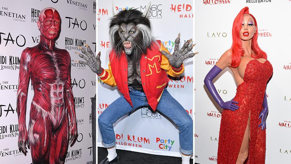 Heidi Klum Halloween Kostüme Alle