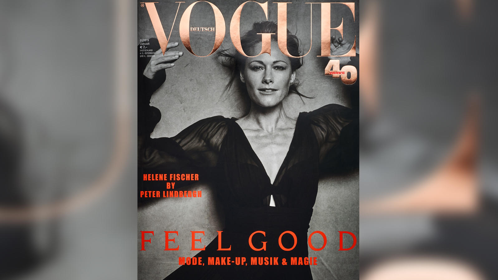 Vogue Cover Helene Fischer