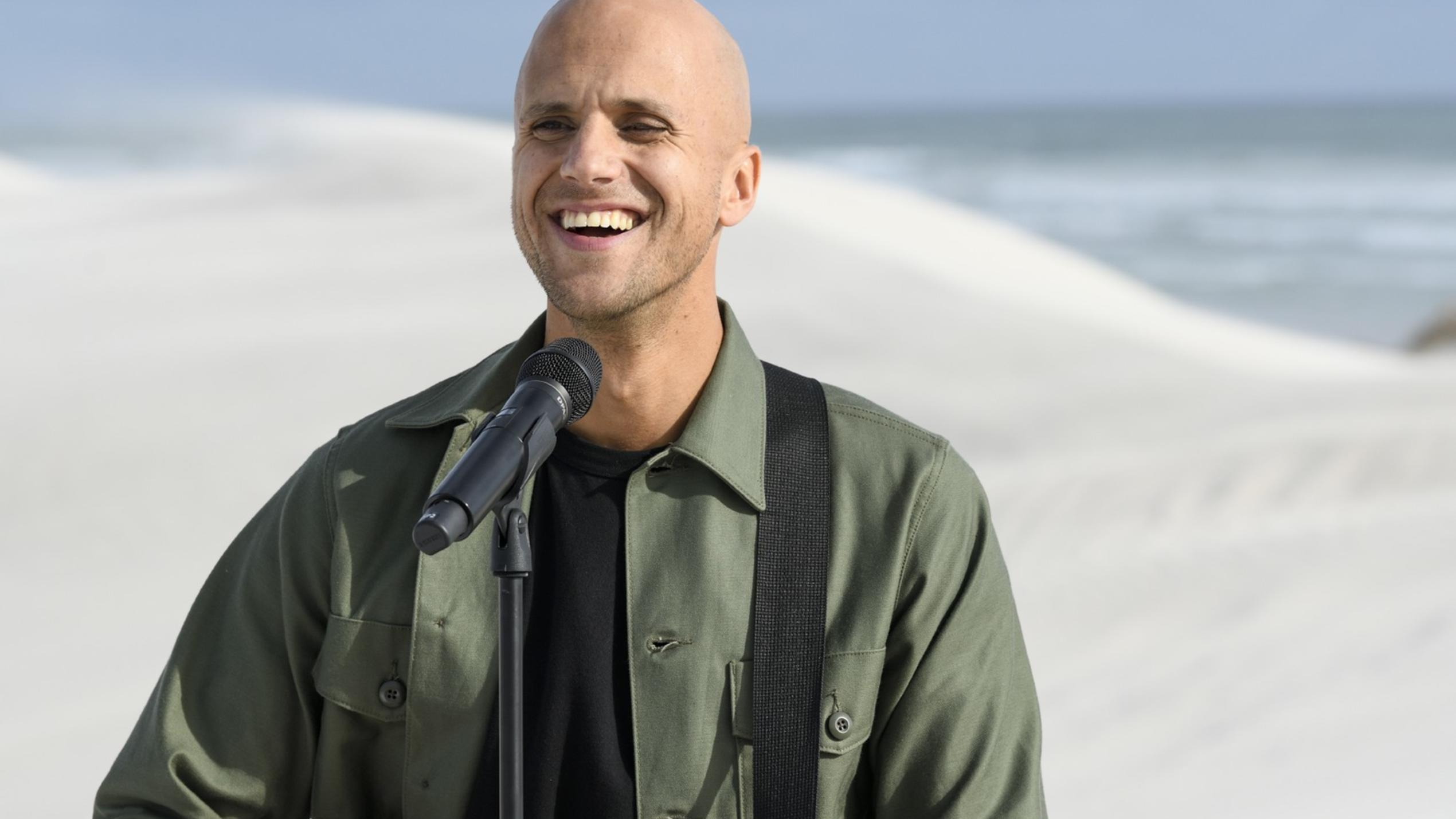 Milow im am 4. Juni im Livestream