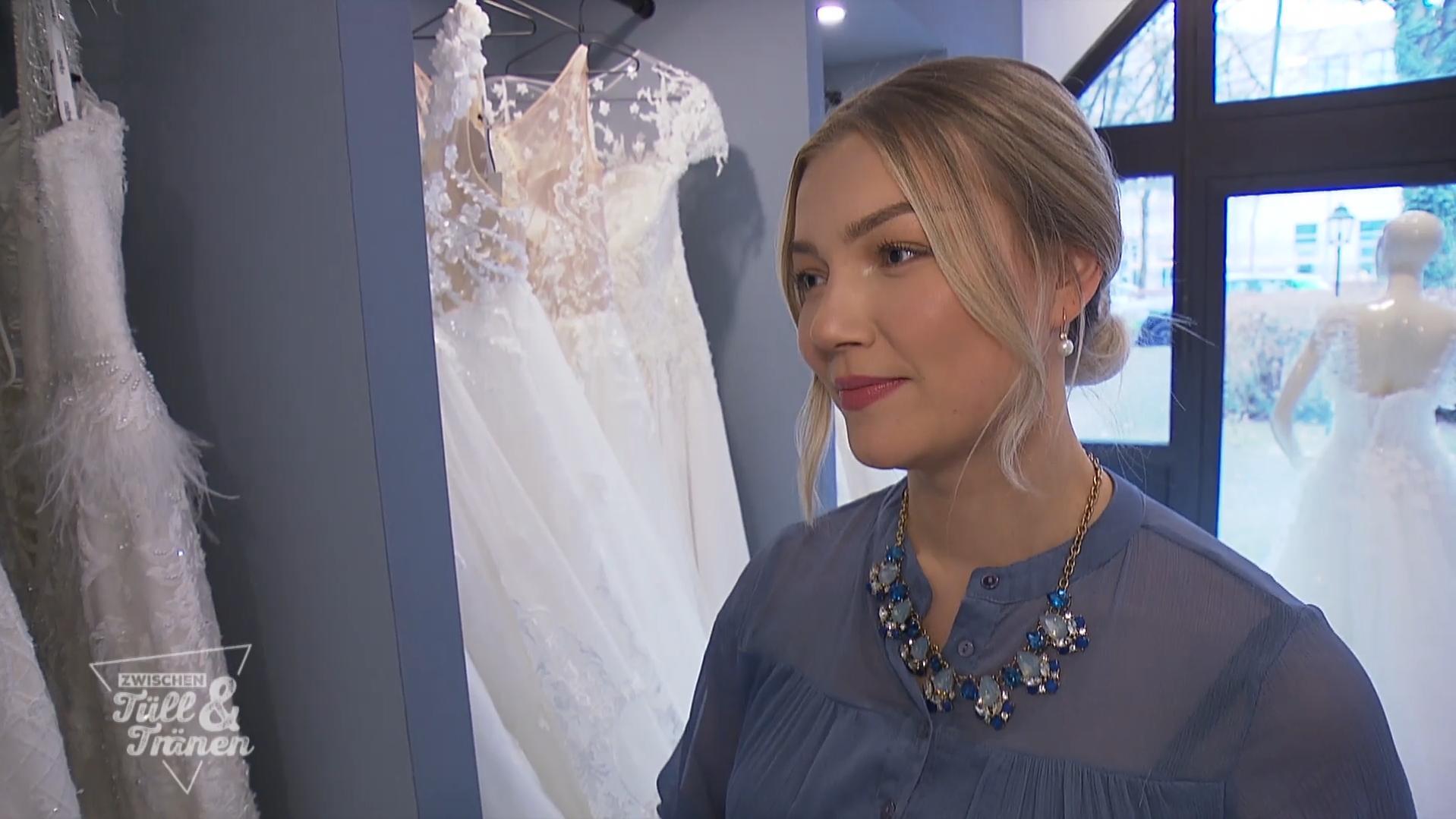 Die Braut sucht ein Überflieger-Kleid