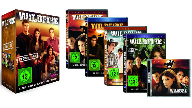 Wildfire Komplett-DVD-Box