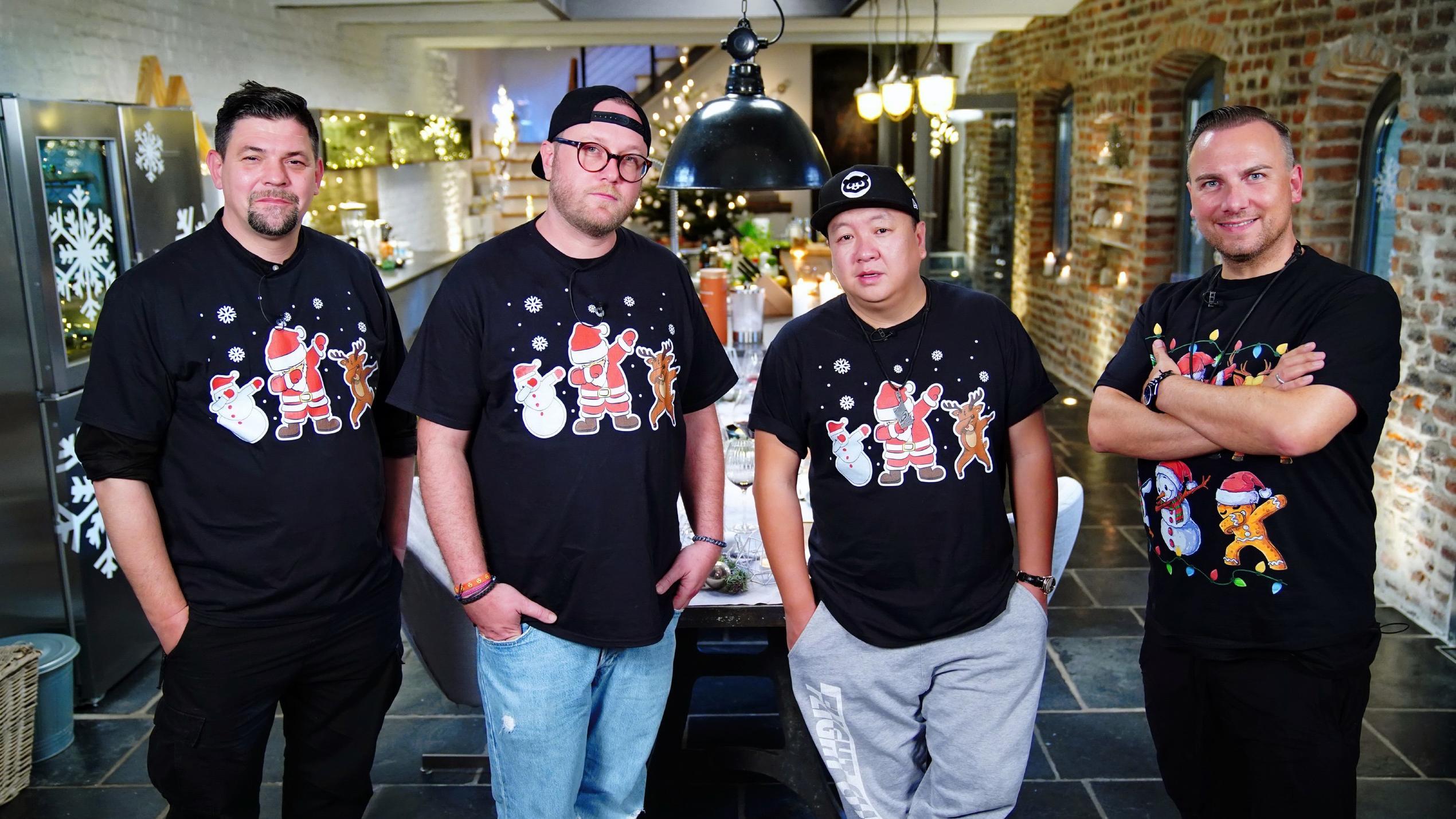 Kitchen Impossible Tim Malzer Und Max Strohe Sowie Tim Raue Und The Duc Ngo Treten In Der Weihnachts Edition 2020 An