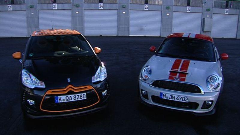 MINI JCW Coupé vs. Citroen DS3