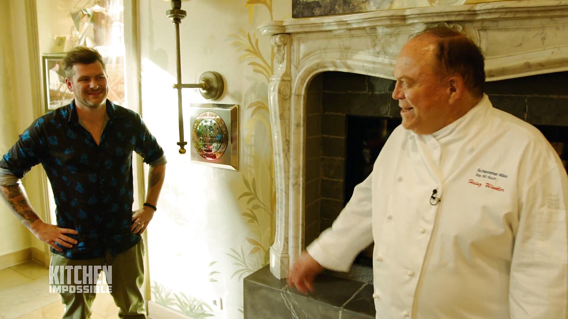 Kitchen Impossible: Daniel Gottschlich hat einen riesigen Respekt beim Treffen mit Heinz Winkler - VOX Online