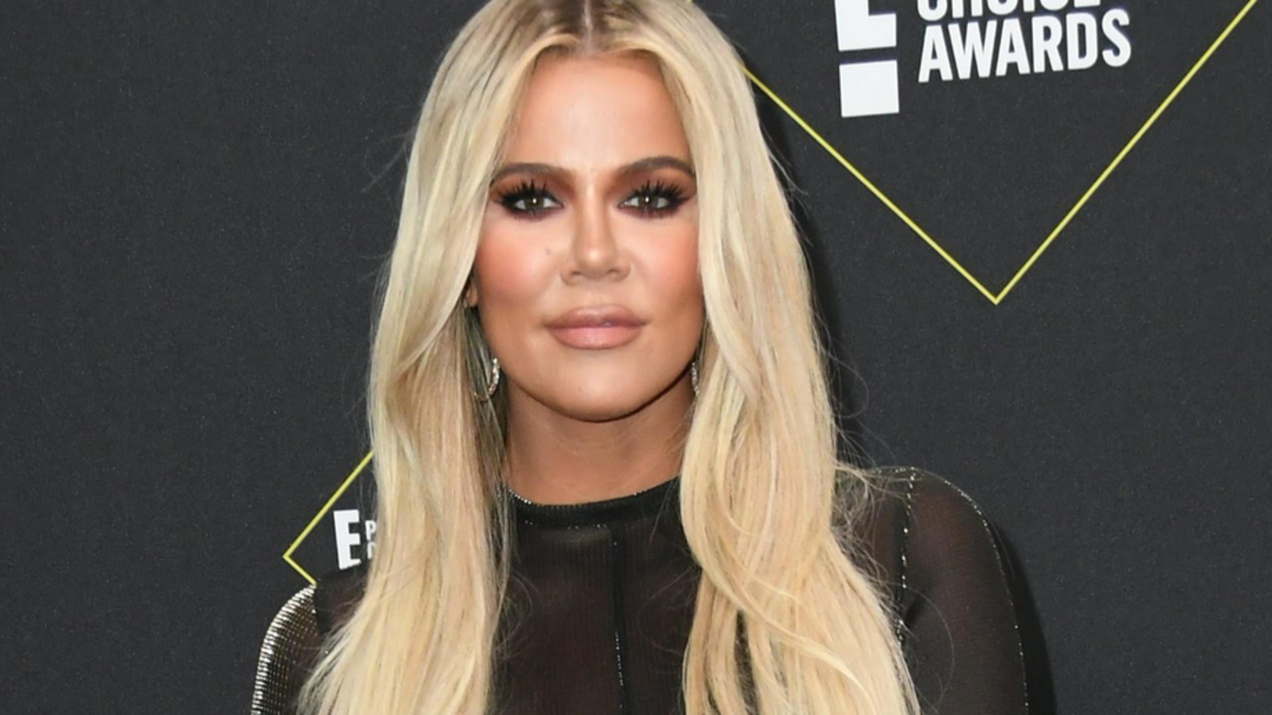 Khloé Kardashian bei den People's Choice Awards 2019.