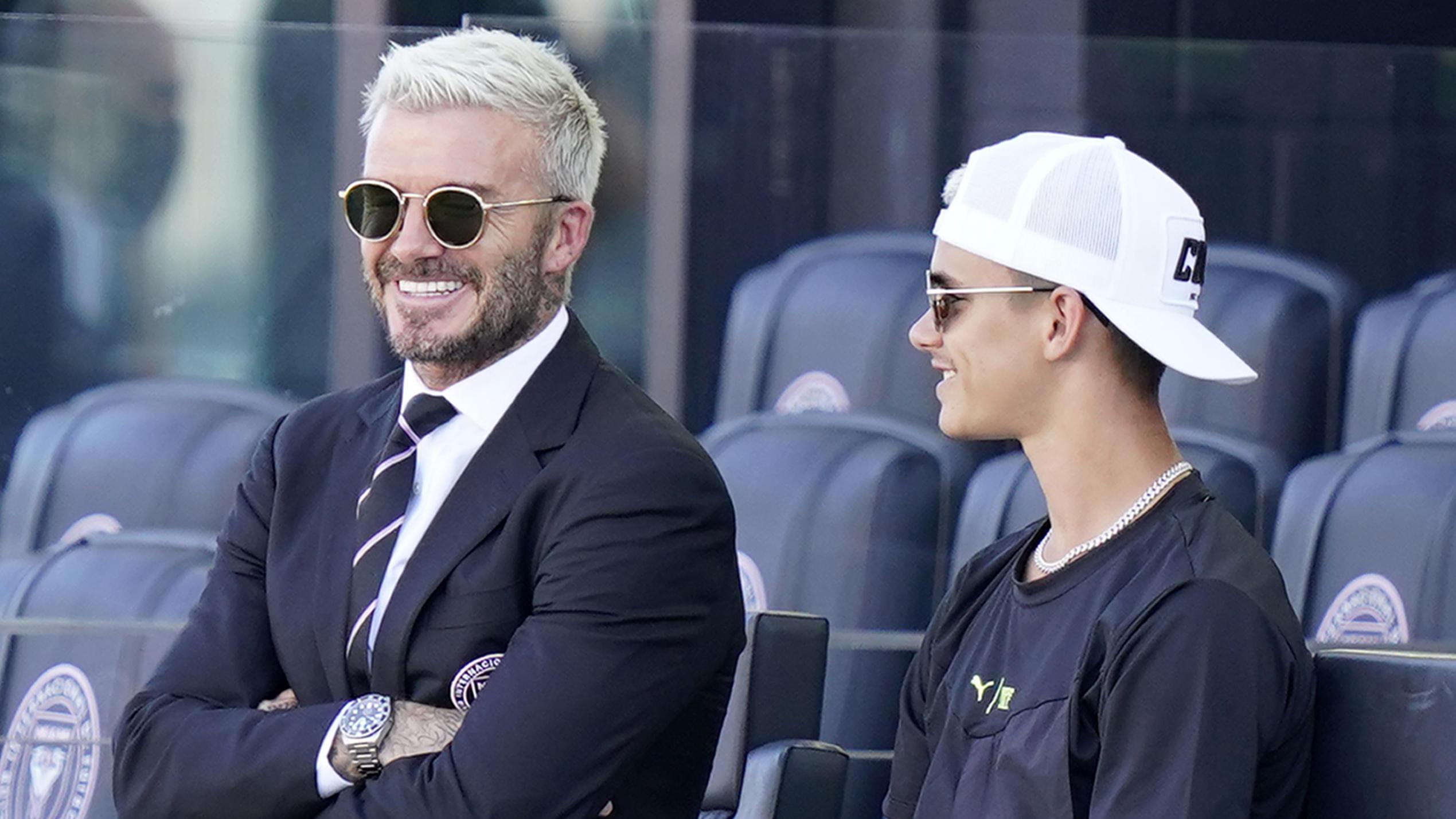 David Beckham zeigt inniges Foto zu Romeos 19. Geburtstag