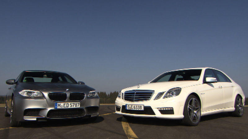 BMW M5 vs. Mercedes E 63 AMG