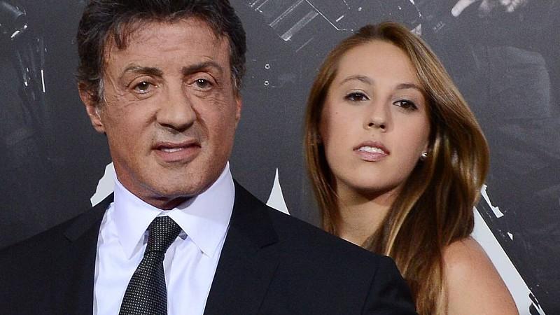 Tochter Von Sylvester Stallone