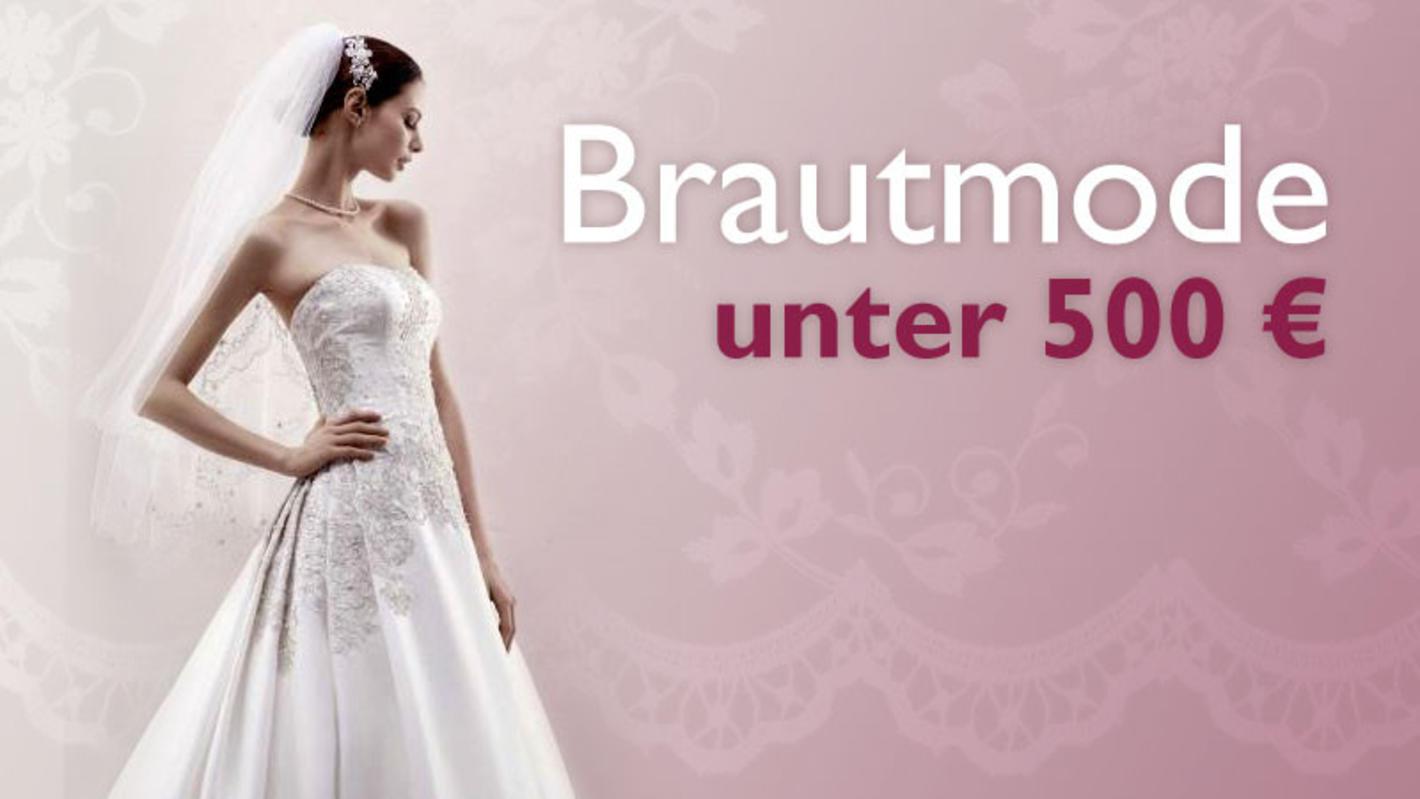 Günstige Brautmode: Brautkleider unter 17 Euro