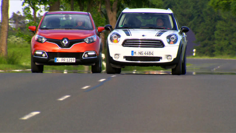 Renault Captur vs. Mini Countryman