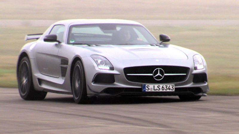 SLS Electric Drive und SLS Black Series