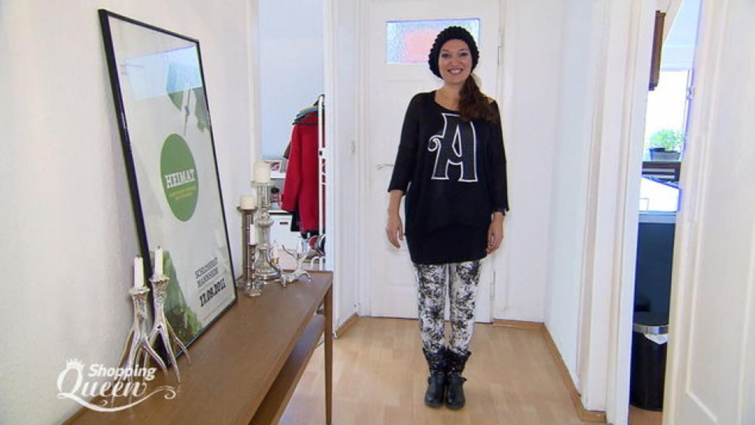 """Shopping Queen""-Kandidatin Stephie im Style-Check"