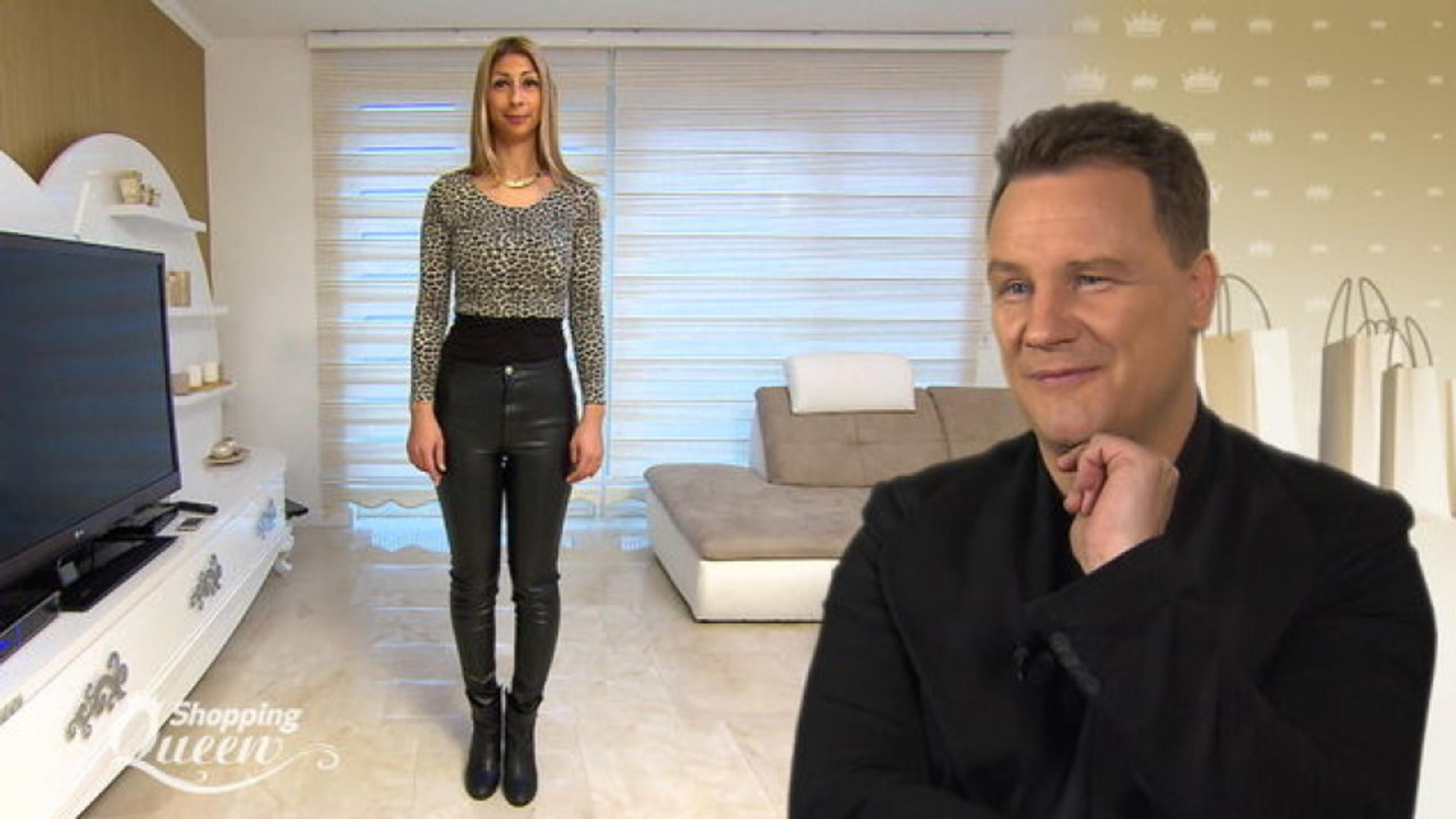 "Sevil im Style-Check bei ""Shopping Queen"""