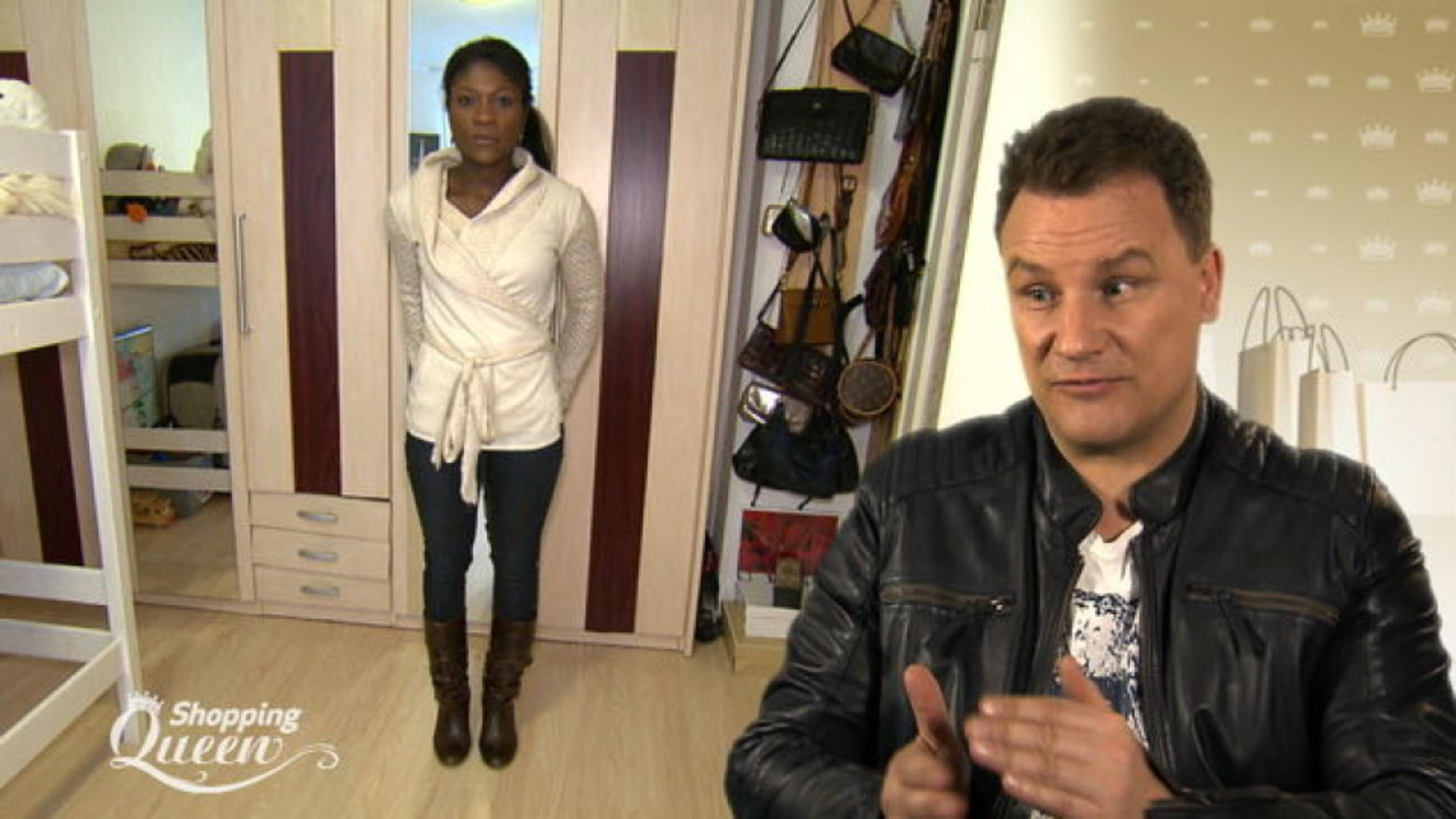 "Lily im Style-Check bei ""Shopping Queen"""