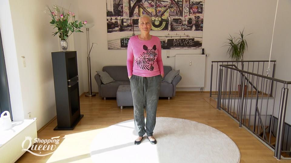 """Shopping Queen""-Kandidatin Helke im Style-Check"