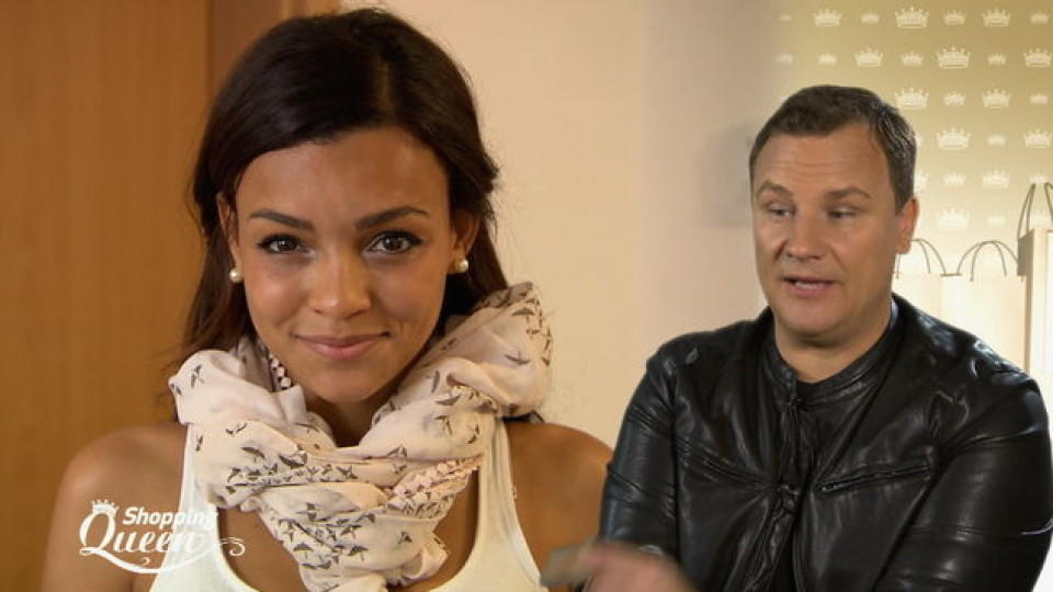 "Nadja im Style-Check bei ""Shopping Queen"""