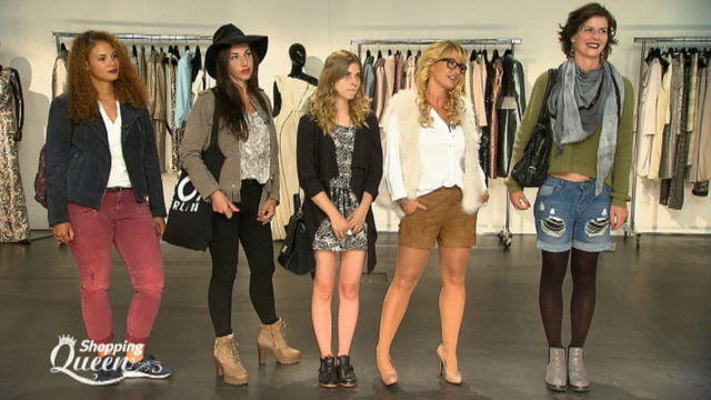 Finale Berlin Shopping Queen Wildleder