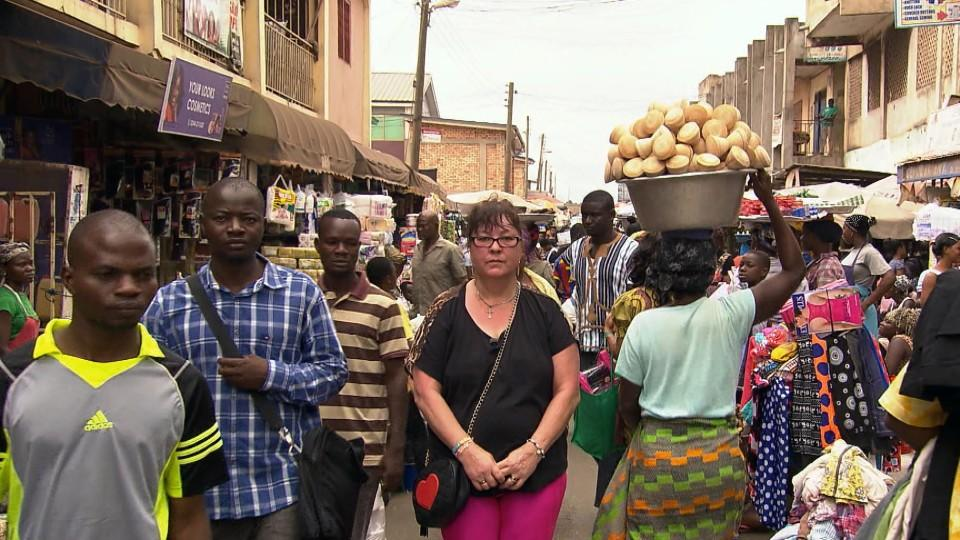"""Goodbye Deutschland""-Kandidatin Elvira Ruf in Ghana"