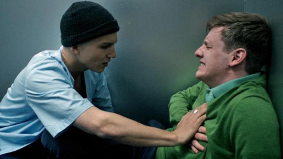 Club Der Roten Bänder Leo Und Alex Sind Im Aufzug Gefangen