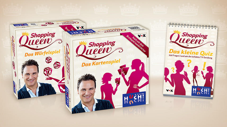 Shopping Queen Würfelspiel