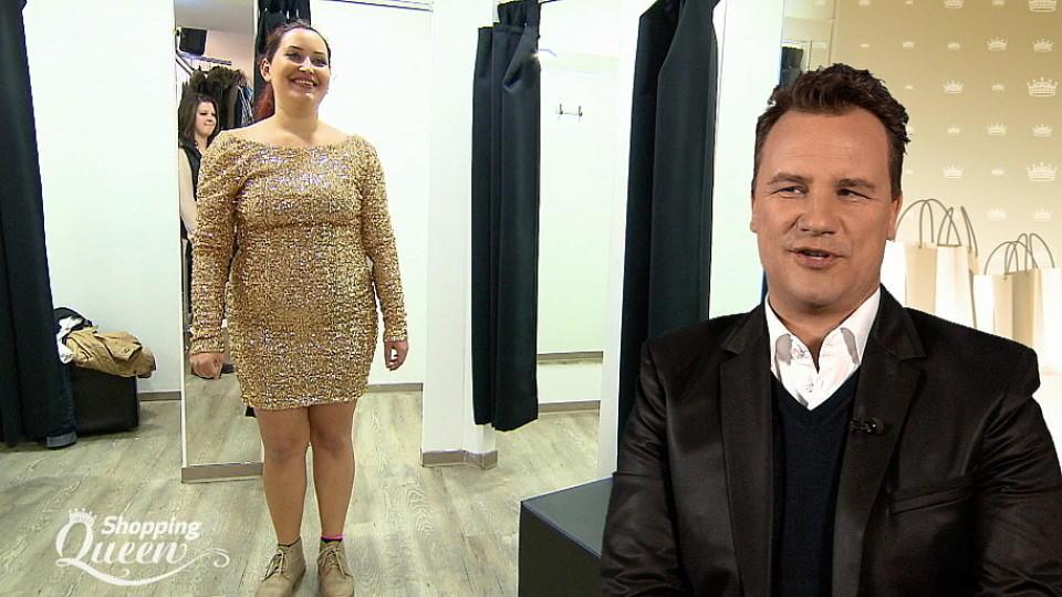 Shopping Queen: Yanet sucht ein glitzerndes Silvesterkleid