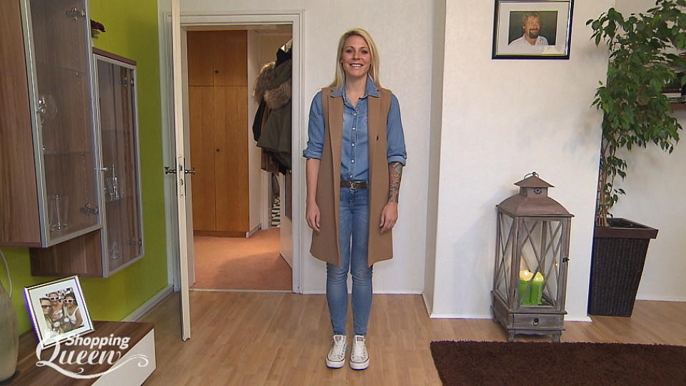 "Verena im Style-Check von Guido bei ""Shopping Queen"""