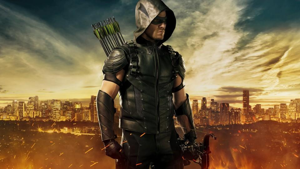The Arrow (Stephen Amell) Foto: VOX / Warner Bros. International Television