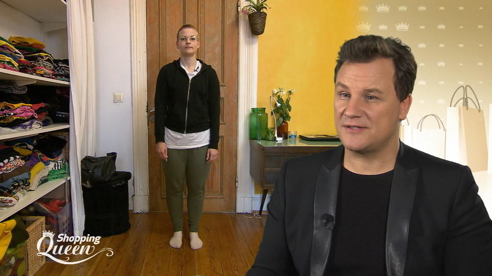 "Anja im Style-Check bei ""Shopping Queen"" in Hamburg"