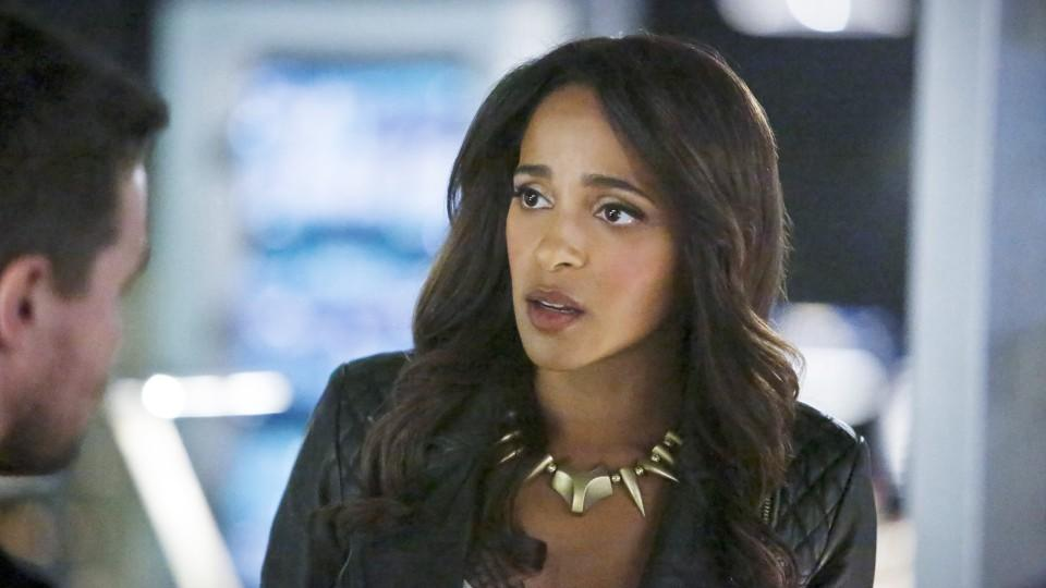 Arrow: Darstellerin Megalyn Echikunwoke in der Rolle der Vixen