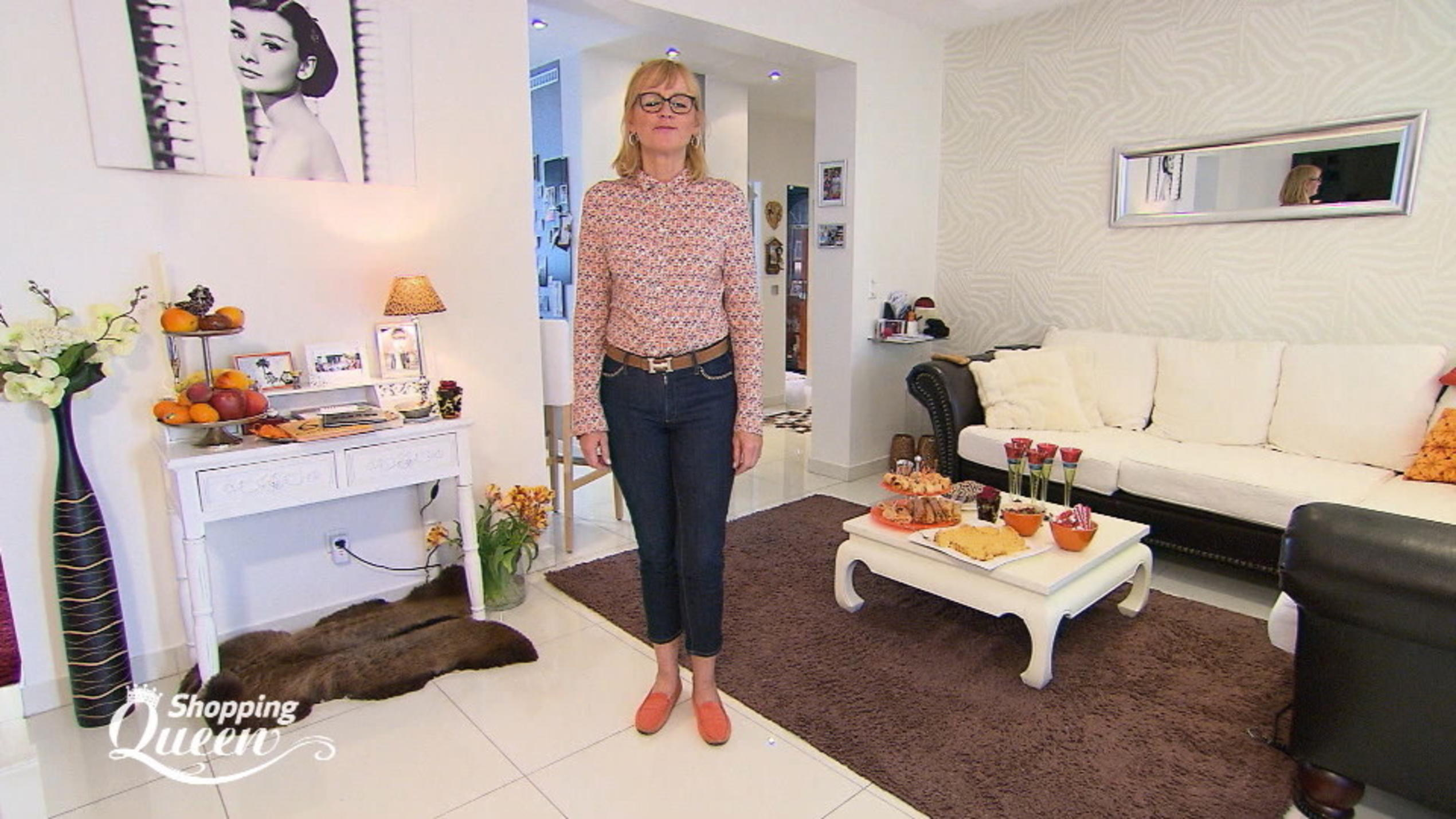 """Shopping Queen""-Kandidatin Monika im Style-Check"