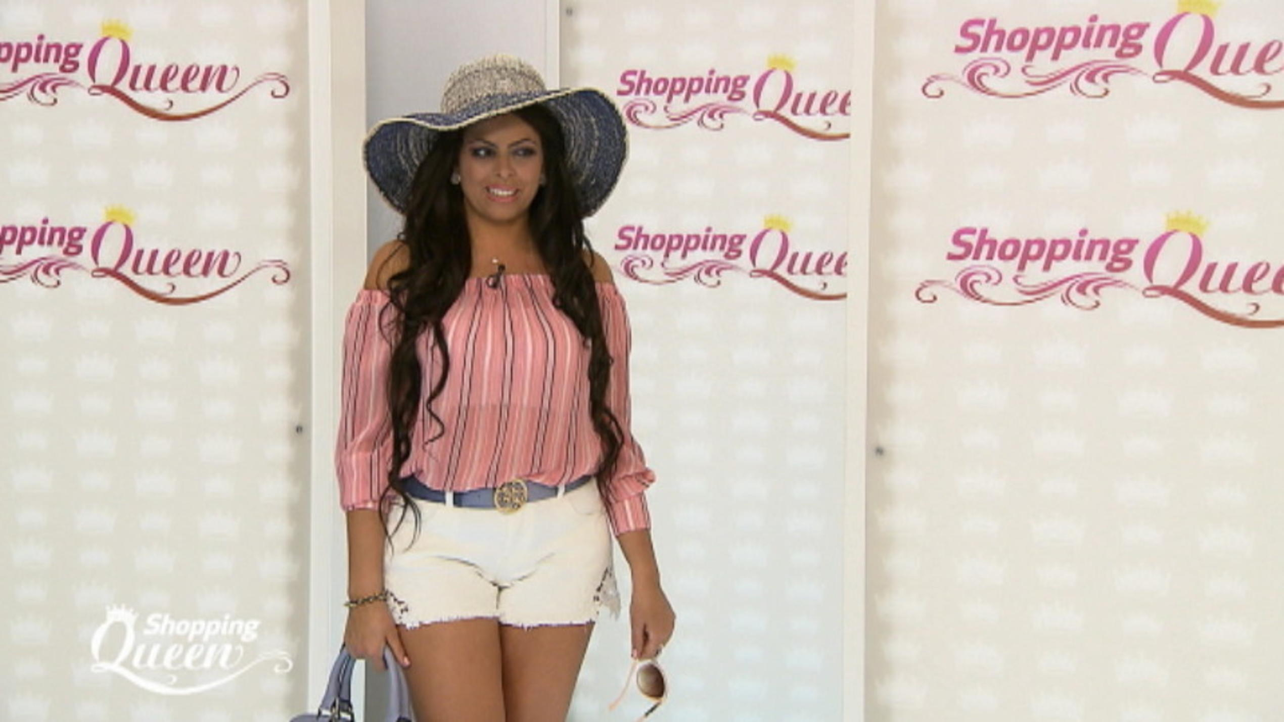 "Patrizia in Hot Pants auf den Catwalk von ""Shopping Queen"" in Düsseldorf"
