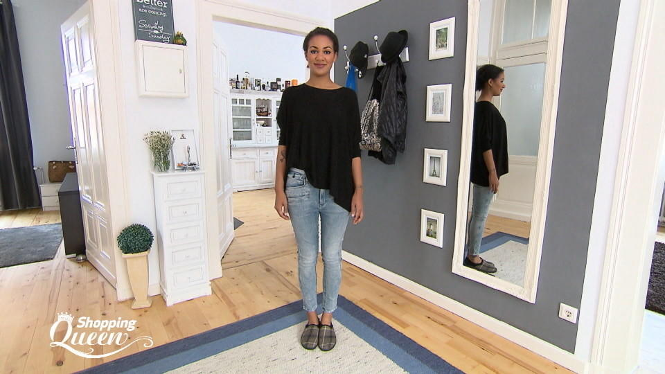 "Michelle im Style-Check bei ""Shopping Queen"""