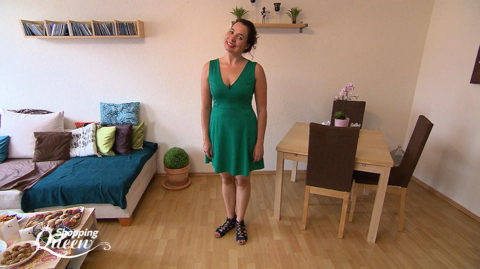 "Manu im Style-Check bei ""Shopping Queen"""