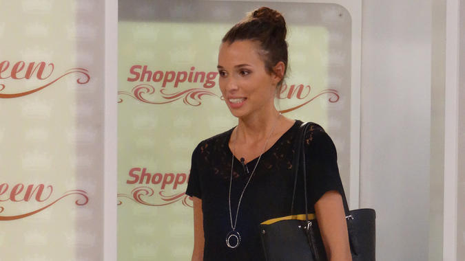 """Shopping Queen""-Kandidatin Fred"
