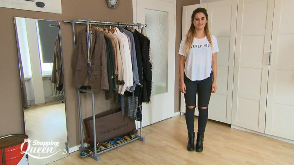 "Lisa im Style-Check bei ""Shopping Queen"""