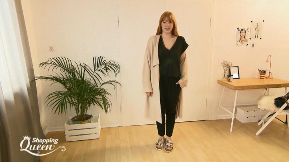 shopping queen charlie aus d sseldorf im style check. Black Bedroom Furniture Sets. Home Design Ideas