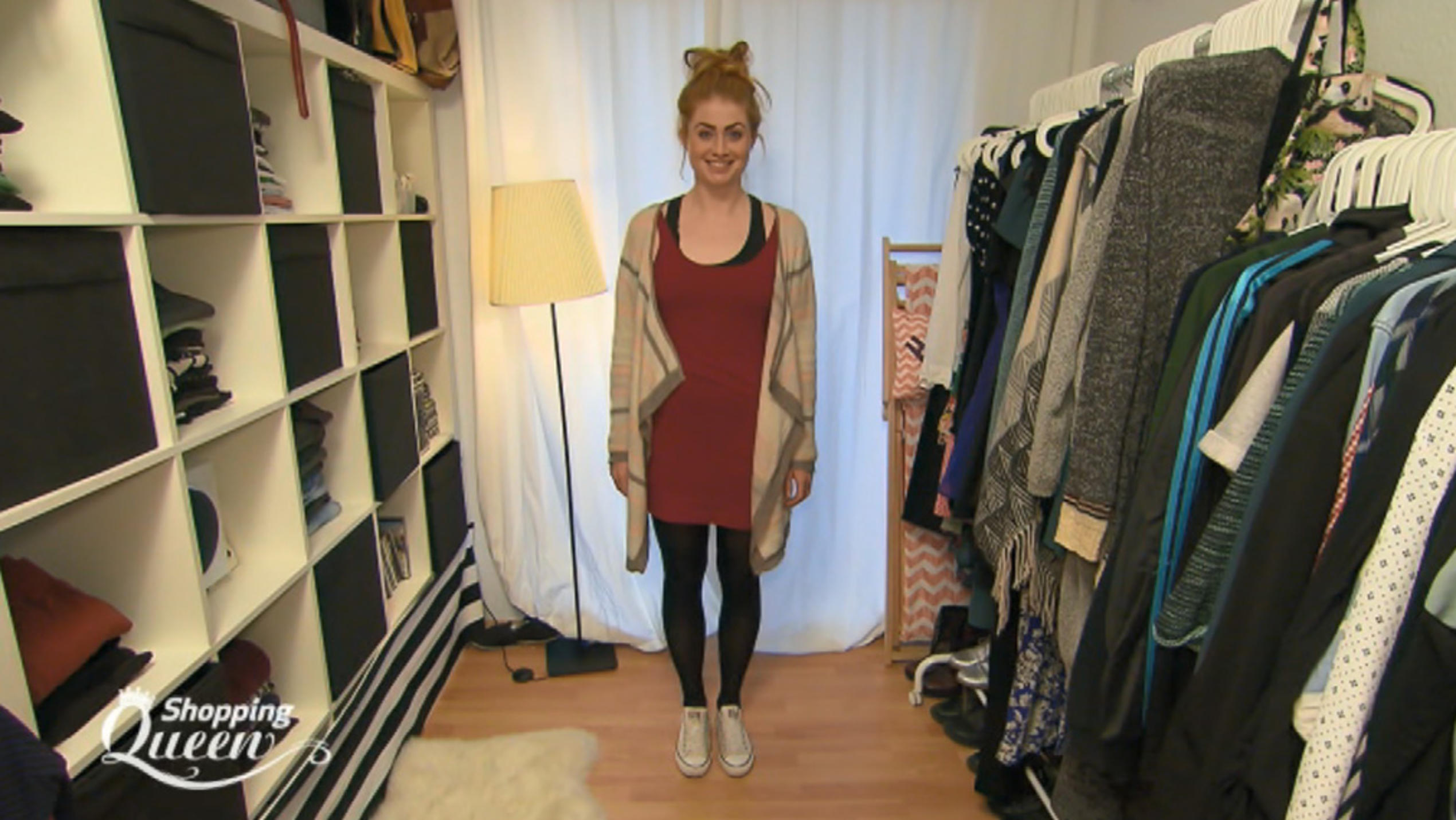 """Shopping Queen""-Kandidatin Jocy im Style-Check"