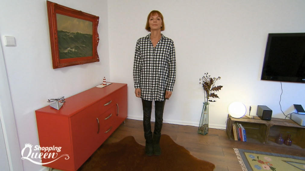 """Shopping Queen""-Kandidatin Regina aus Hamburg im Style-Check"