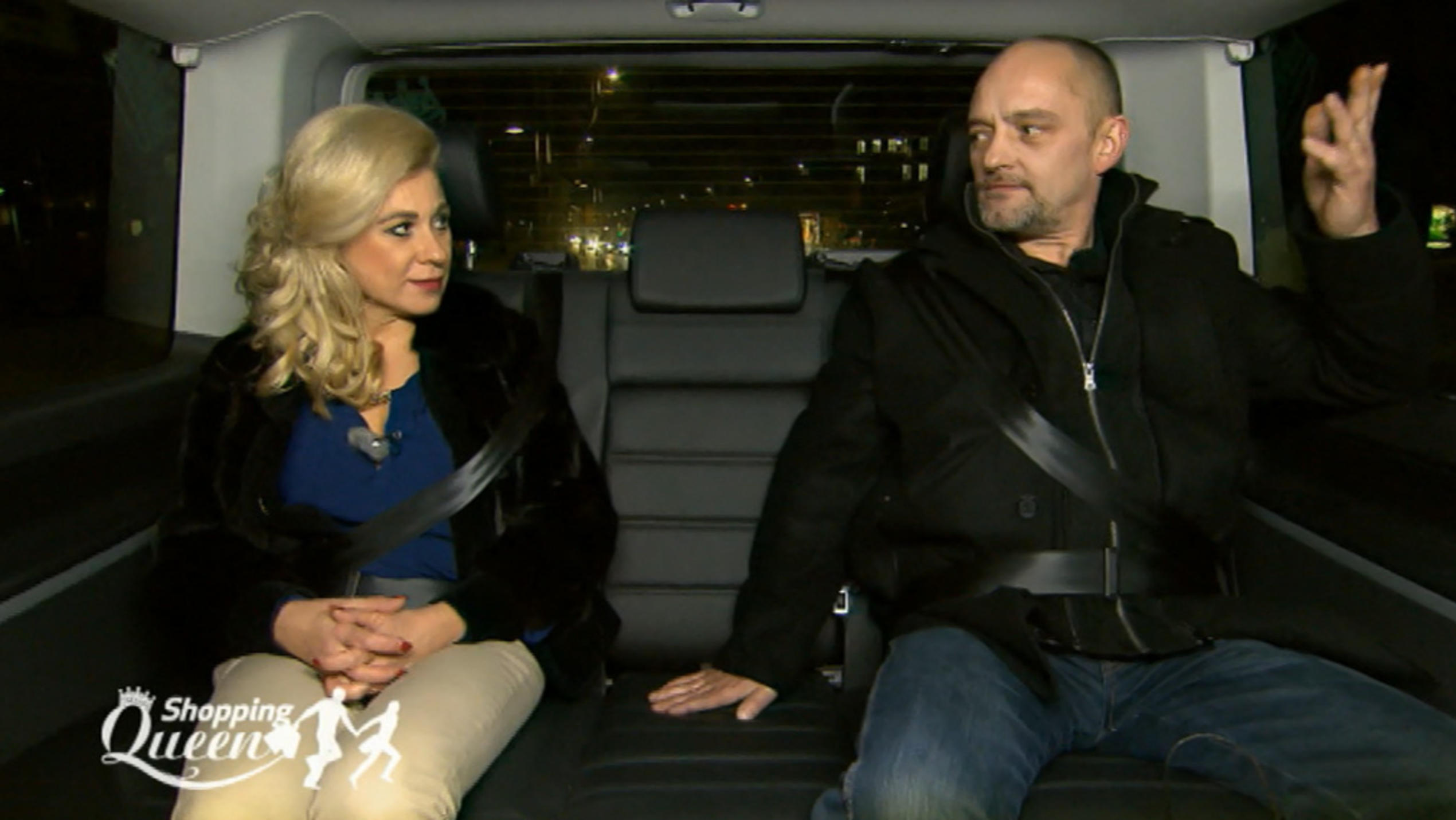 """Shopping Queen""-Kandidat Ronny und Elena"