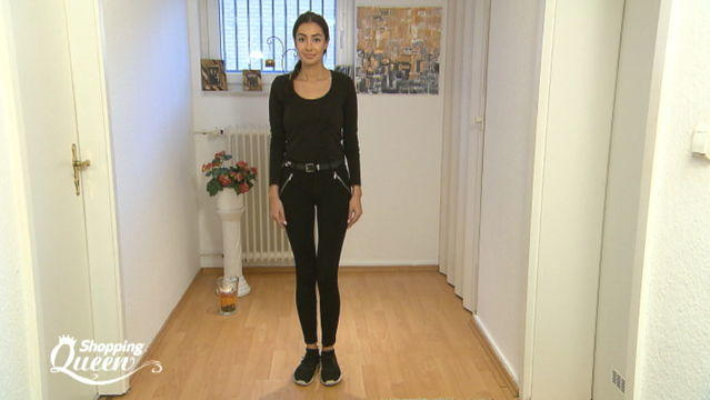 """Shopping Queen""-Kandidatin Aylin im Style-Check"
