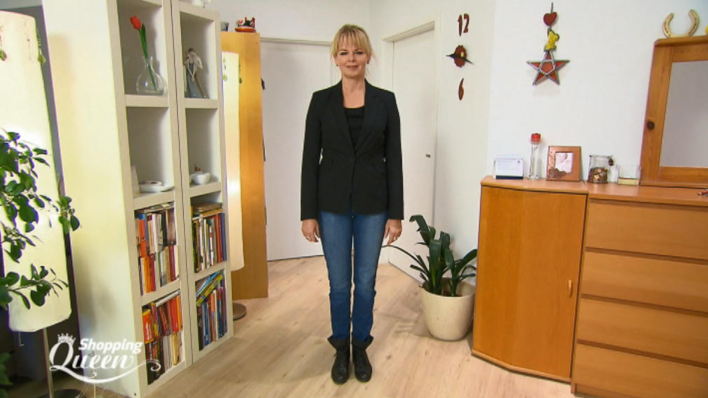 """Shopping Queen""-Kandidatin Sybille im Style-Check"